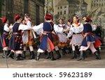 warsaw   may 30  krakowiak... | Shutterstock . vector #59623189