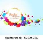 colorful abstract background | Shutterstock .eps vector #59625226