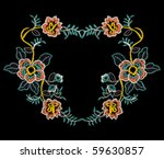 flower lace | Shutterstock .eps vector #59630857