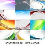 big vector set of various of... | Shutterstock .eps vector #59632936