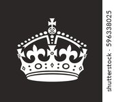 crown vector illustration. | Shutterstock .eps vector #596338025