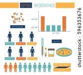 sepsis infographic template... | Shutterstock .eps vector #596353676