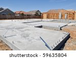 New Home Foundation Construction