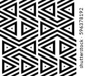 vector seamless pattern.... | Shutterstock .eps vector #596378192