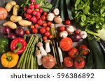 fresh colorful vegetables on a...