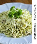 Small photo of Pasta alfredo with chicken