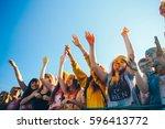 taganrog  russian federation  ... | Shutterstock . vector #596413772