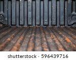 abstract old grunge rusty... | Shutterstock . vector #596439716