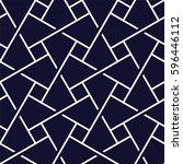 islamic pattern. seamless... | Shutterstock .eps vector #596446112