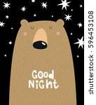 """a poster of """"good night"""". a... 