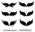 vector wings design elements...