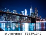 New York Skyline From The...