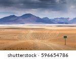 high altiplano plateau  eduardo ... | Shutterstock . vector #596654786