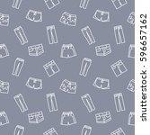 pants background seamless... | Shutterstock .eps vector #596657162