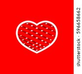 heart icon  isolated sticker ...