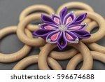Hand Made Silk Fabric Flower