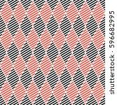 seamless vector abstract... | Shutterstock .eps vector #596682995