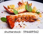 Lobster Tail In Maple Truffle...