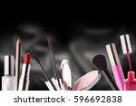 arrangement of a medium group...   Shutterstock . vector #596692838