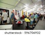 usa. florida. miami. february... | Shutterstock . vector #596706932