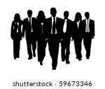 business team   Shutterstock .eps vector #59673346