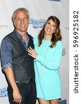 """Small photo of LOS ANGELES - MAR 7: Patrick Fabian, Mandy Fabian at the """"Dropping the Soap"""" Premiere at Writer's Guild Theater on March 7, 2017 in Beverly Hills, CA"""