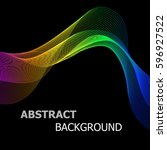 abstract background with... | Shutterstock .eps vector #596927522