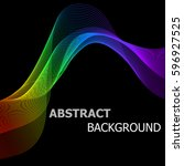 abstract background with... | Shutterstock .eps vector #596927525