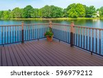 stock photo of deck of... | Shutterstock . vector #596979212