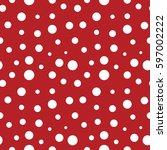 circle seamless pattern....   Shutterstock .eps vector #597002222