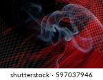 racing smokey background with... | Shutterstock . vector #597037946