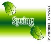 spring season | Shutterstock . vector #59704336