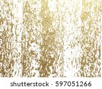 gold grunge texture with... | Shutterstock .eps vector #597051266