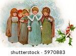 Children Christmas Carollers  ...
