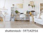 creative design of spacious...   Shutterstock . vector #597142916