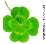 st. patrick's day symbol. lucky ... | Shutterstock . vector #597148655