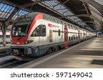 zurich  switzerland on 27th feb ...   Shutterstock . vector #597149042