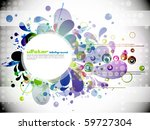 eps10 abstract vector... | Shutterstock .eps vector #59727304