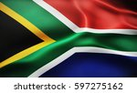 flag of south africa | Shutterstock . vector #597275162