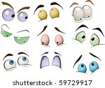 the complete set of the drawn... | Shutterstock .eps vector #59729917