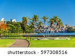 the royal botanical garden of... | Shutterstock . vector #597308516