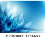 Flower Vector Background With...