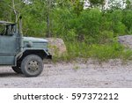 Army Green Truck.
