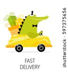 "poster ""fast delivery"". car... 