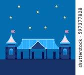 circus of night | Shutterstock .eps vector #597377828