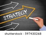 Strategy   Arrow With Text On...
