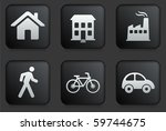 environment icons on square... | Shutterstock .eps vector #59744675