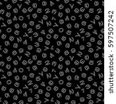 numbers background. seamless...   Shutterstock .eps vector #597507242