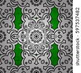 white color illustration.... | Shutterstock .eps vector #597537482