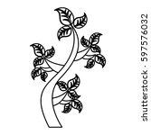 tree plant ecology symbol...   Shutterstock .eps vector #597576032